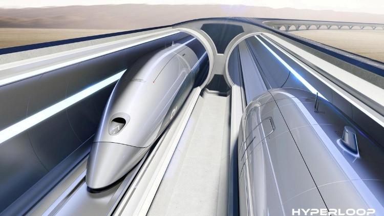 Una capsula di Hyperloop
