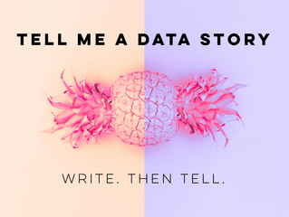Tell me a data story