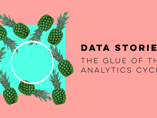Data stories: the glue of the Analytics Cycle.