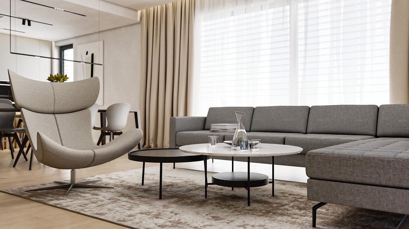 Obývacia izba interiér