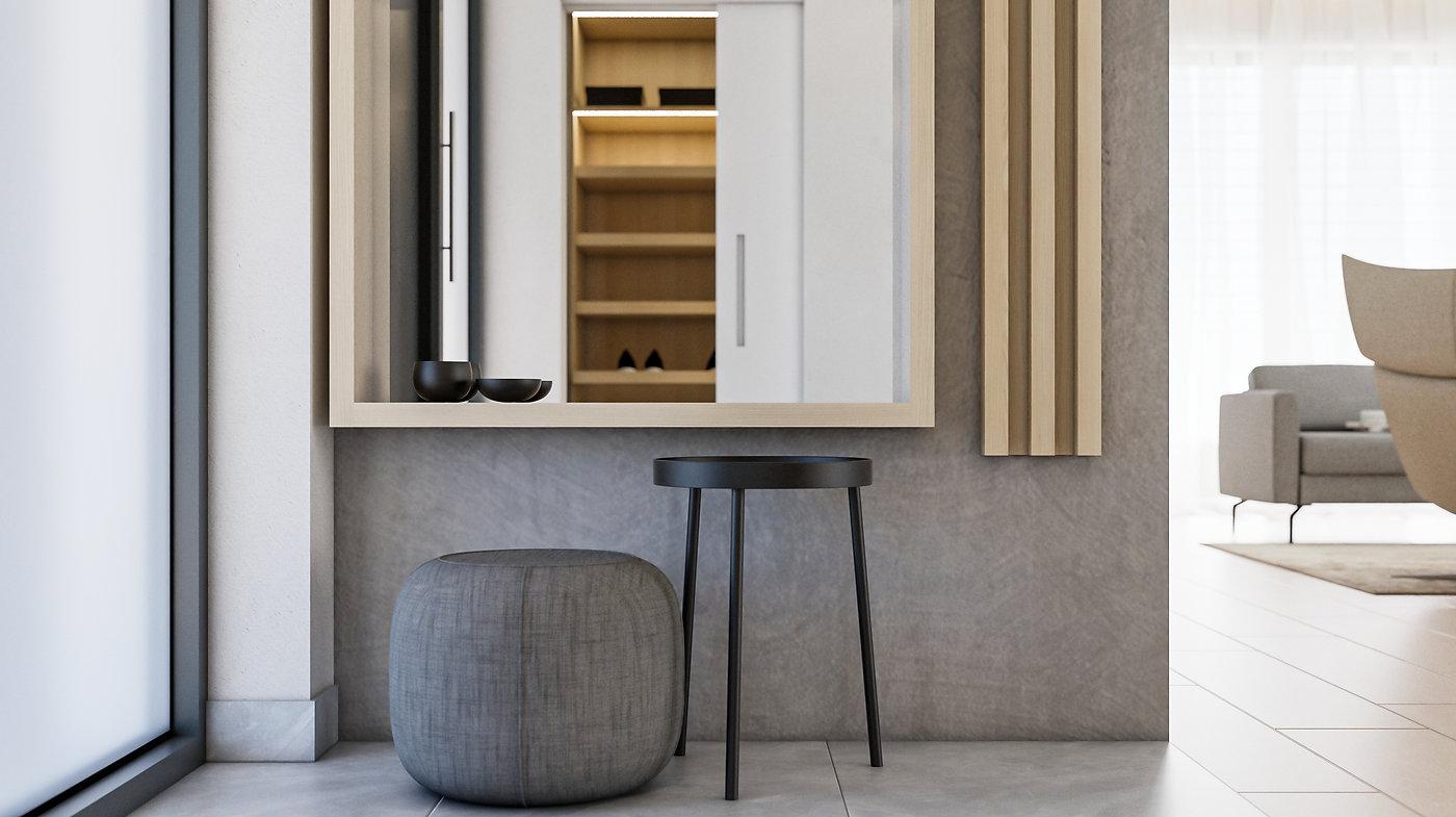 Vstupná hala interiérový dizajn