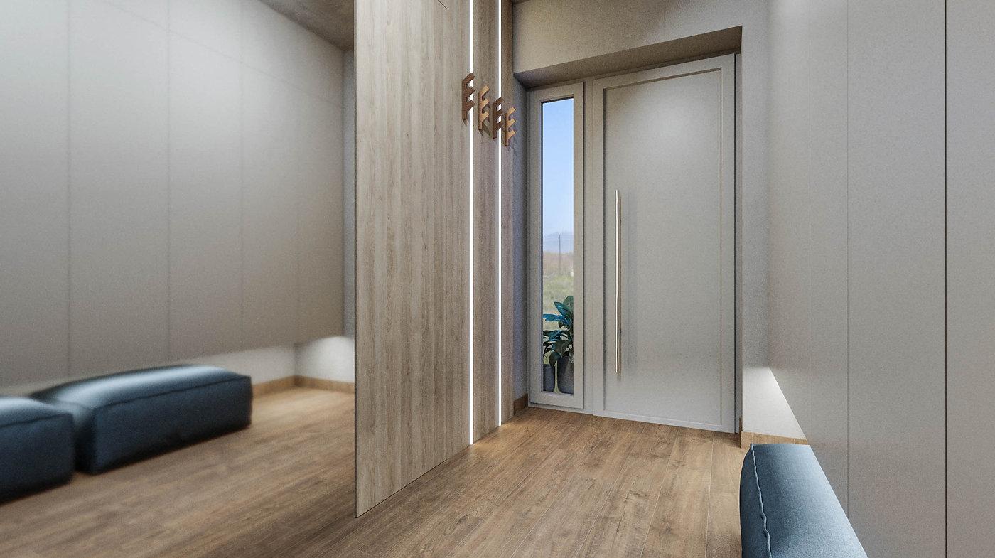 interiér vstupnej haly