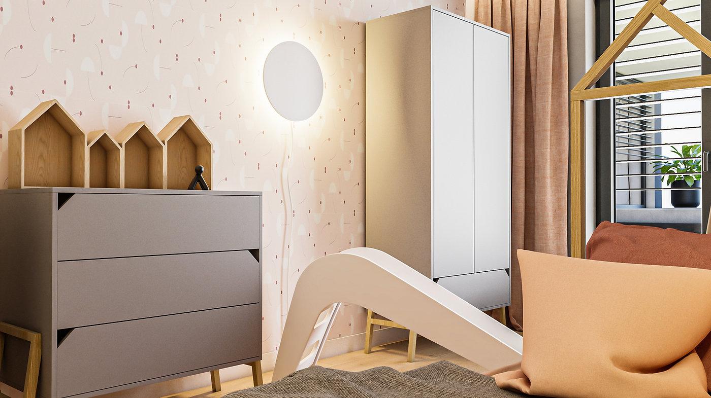 Detská izba interiérový dizajn