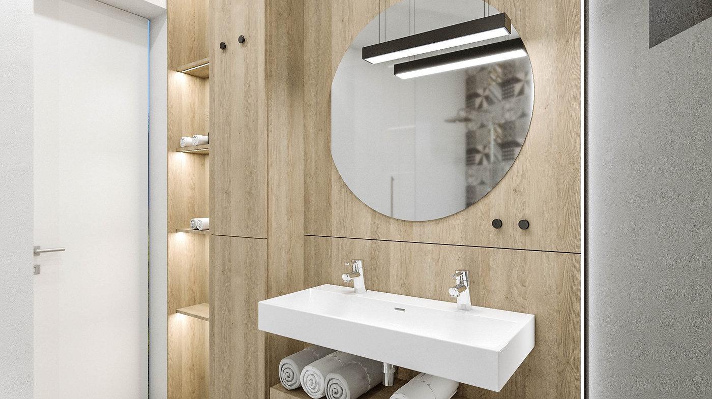 interiér kúpeľne