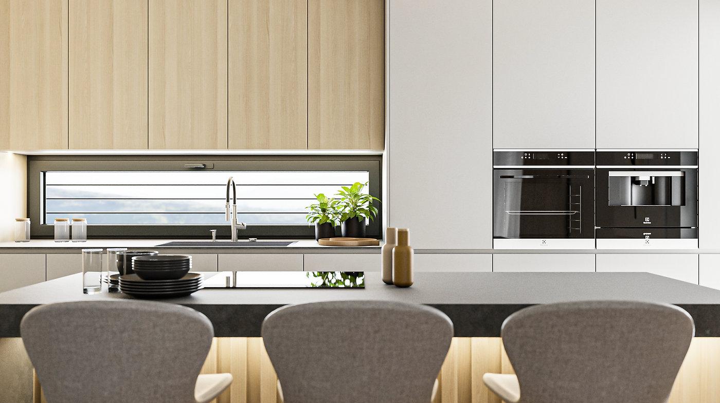 Kuchyňa interiérový dizajn