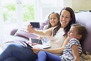 Babysitter Selfie