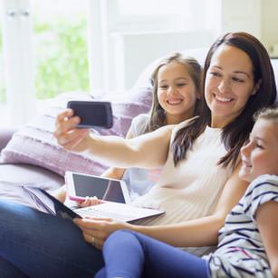 Familia en la era de las redes sociales