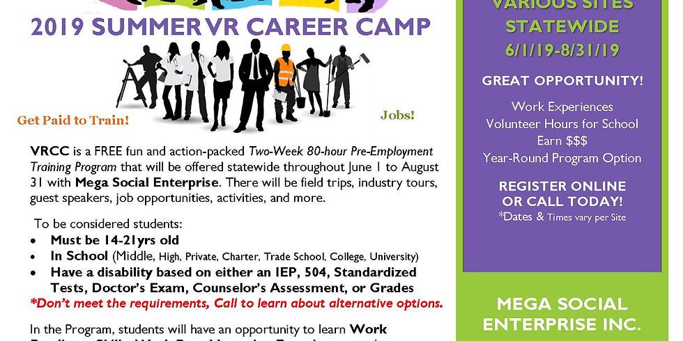 2019 MEGA's Summer VR Career Camp