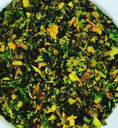 "Loose ""Inspiring"" Kale leaf"