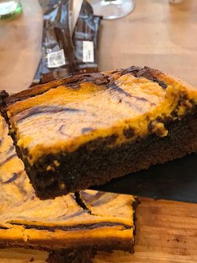 Pumkin brownie.JPG