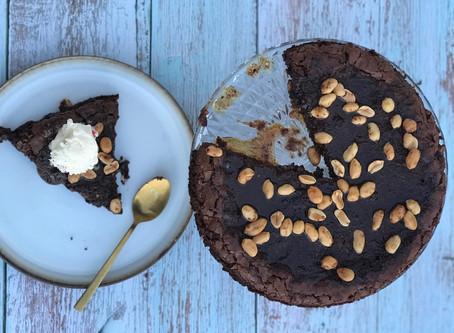 Brownie med nøtter