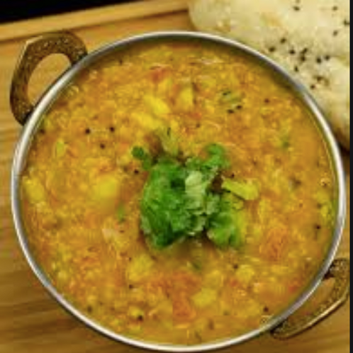 The Bombay -Larger serving sizes of mixed vegetables, dal and rice (11/16)