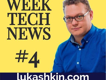 Week tech news #4