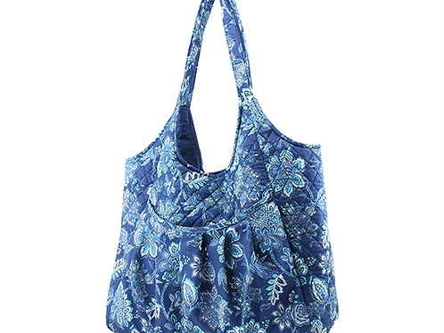 Maxi Craft Bag Quilted Navy