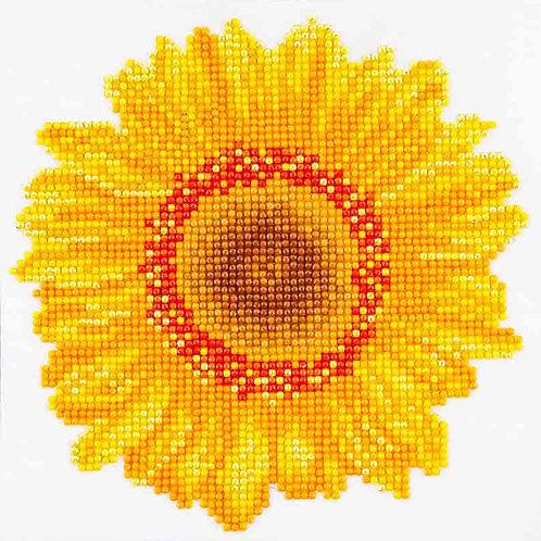 Diamond Dotz Happy Day Sunflower Diamond Facet Art Kit