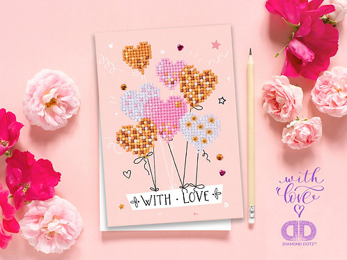 Love Balloons Greeting Card