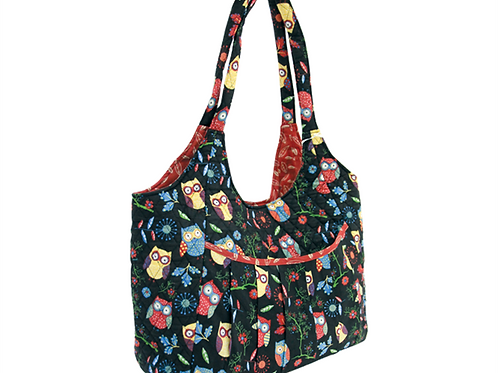 Maxi Craft Quilted Owl Bag