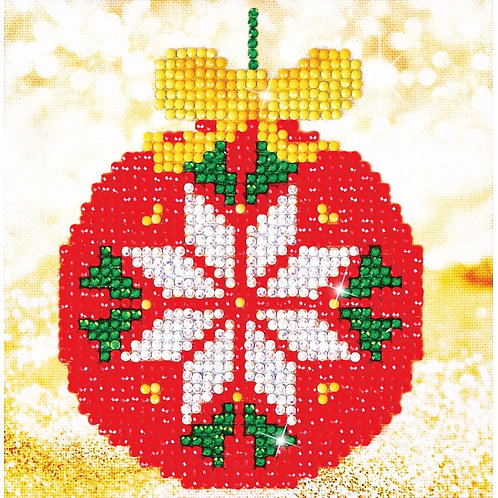Diamond Dotz Red Bauble Picture