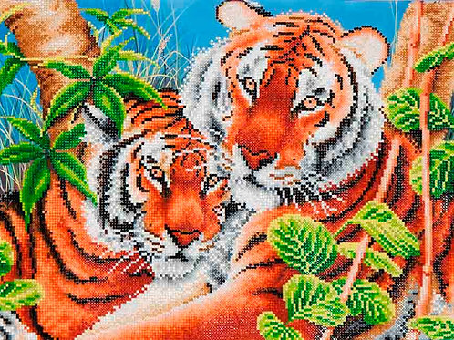 Diamond Dotz Tender Tigers Diamond Facet Art Kit