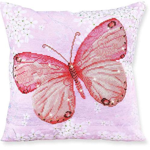 Diamond Dotz Papillon Abricot Decorative Pillow