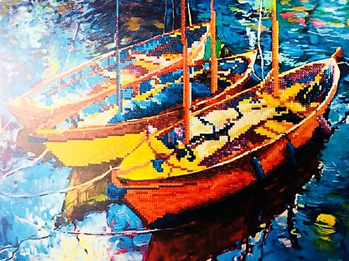 Diamond Dotz Dream Boats Diamond Facet Art Kit