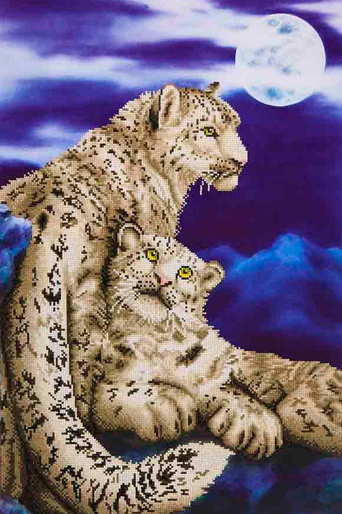Diamond Dotz Snow Leopards Diamond Facet Art Kit