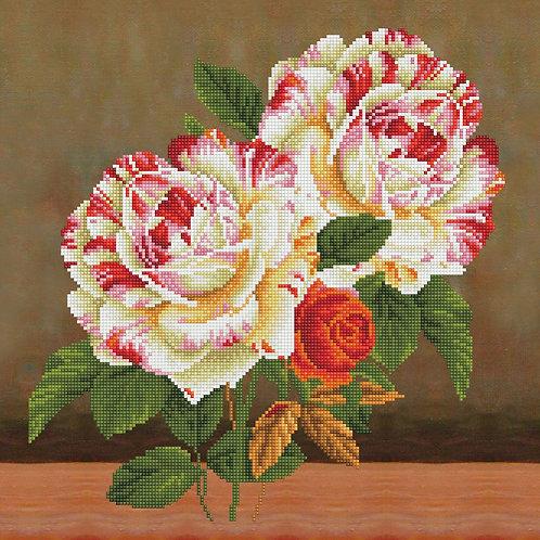 Camellia & RoseBouquet Pillowcase