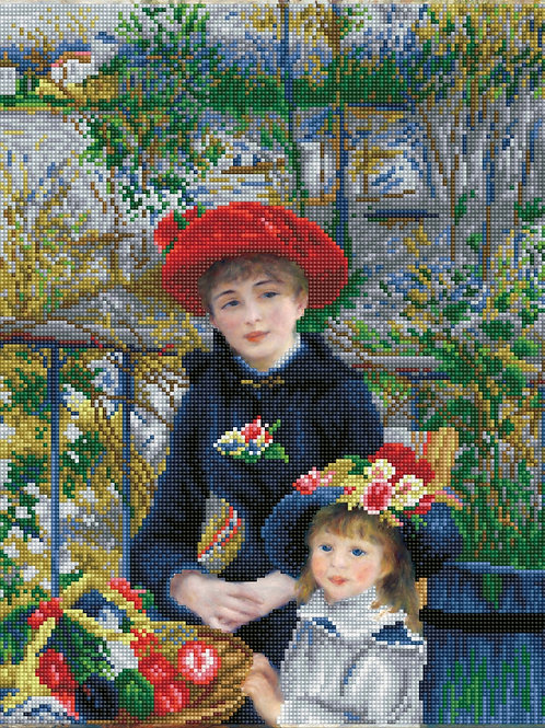 Two Sisters On the Terrace (après Renoir)