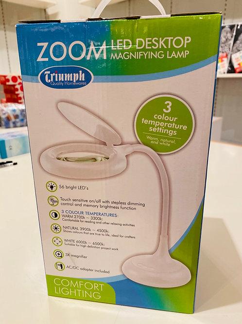 Triumph Zoom LED Desktop Lamp