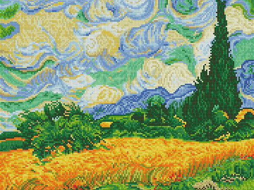 Wheat Fields (Van Gogh)