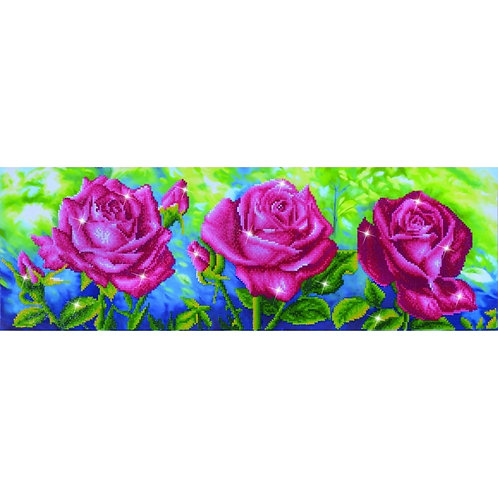 Les Roses du Jardin Diamond Facet Art Kit