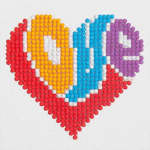 Diamond Dotz Love Diamond Facet Art Kit