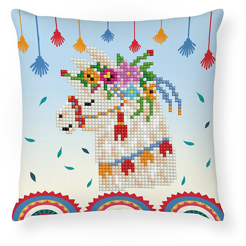 Llama Party Mini Pillowcase
