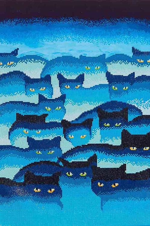 Diamond Dotz Smokey Mountain Cats Diamond Facet Art Kit