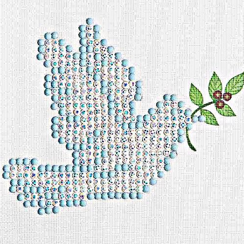 Diamond Dotz Dove Of Peace Diamond Facet Art Kit