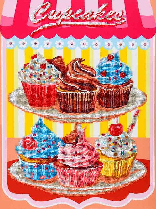 Diamond Dotz Cupcakes Diamond Facet Art Kit