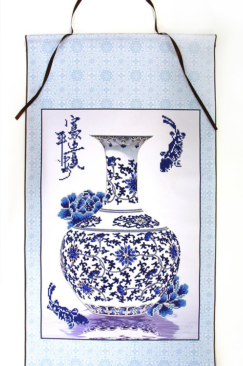 Oriental Blessing Scroll-Peace