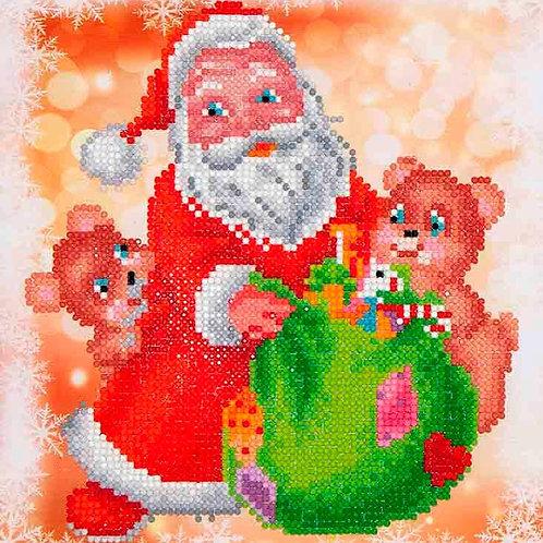 Diamond Dotz Santa & Teddies Diamond Facet Art Kit