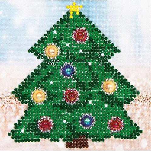 Diamond Dotz Christmas Tree Picture
