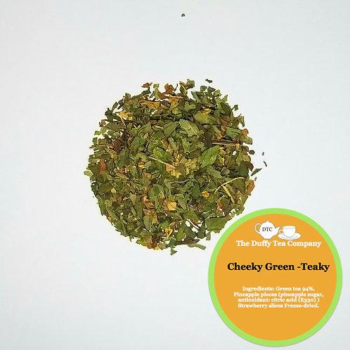 Cheeky Green-teaky
