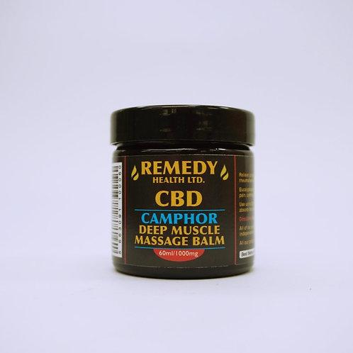 Deep muscle CBD camphor balm
