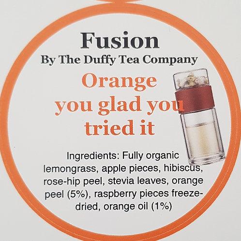 Fusions orange you glad you tried it.