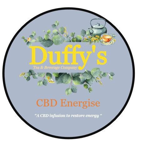 CBD energize a CBD Tea infusion to help restore optimum energy levels