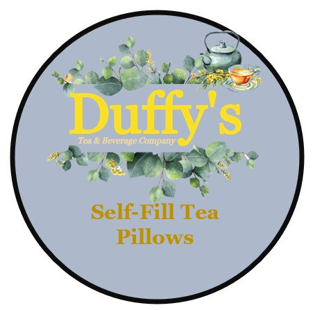 Disposable drawstring self fill tea bags 20 pcs