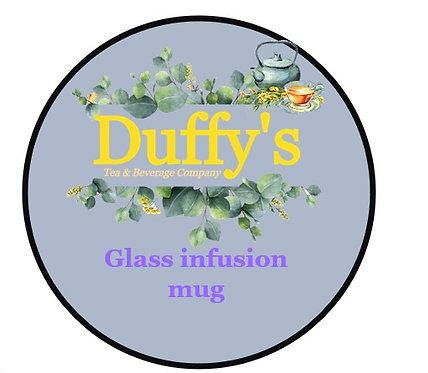 Glass infusion mug