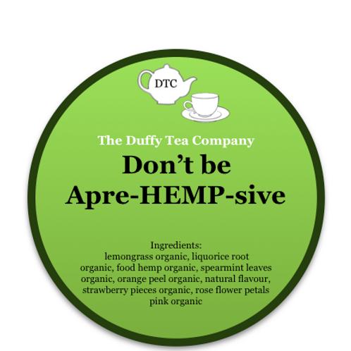 Don't be apre-HEMP-sive