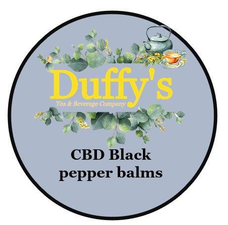 Deep muscle CBD black pepper balm