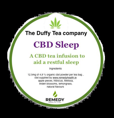 CBD Sleep a CBD Tea infusion to aid restful sleep