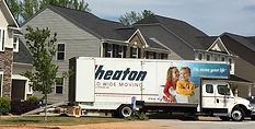 A truck used by our furniture movers in Greenville, SC