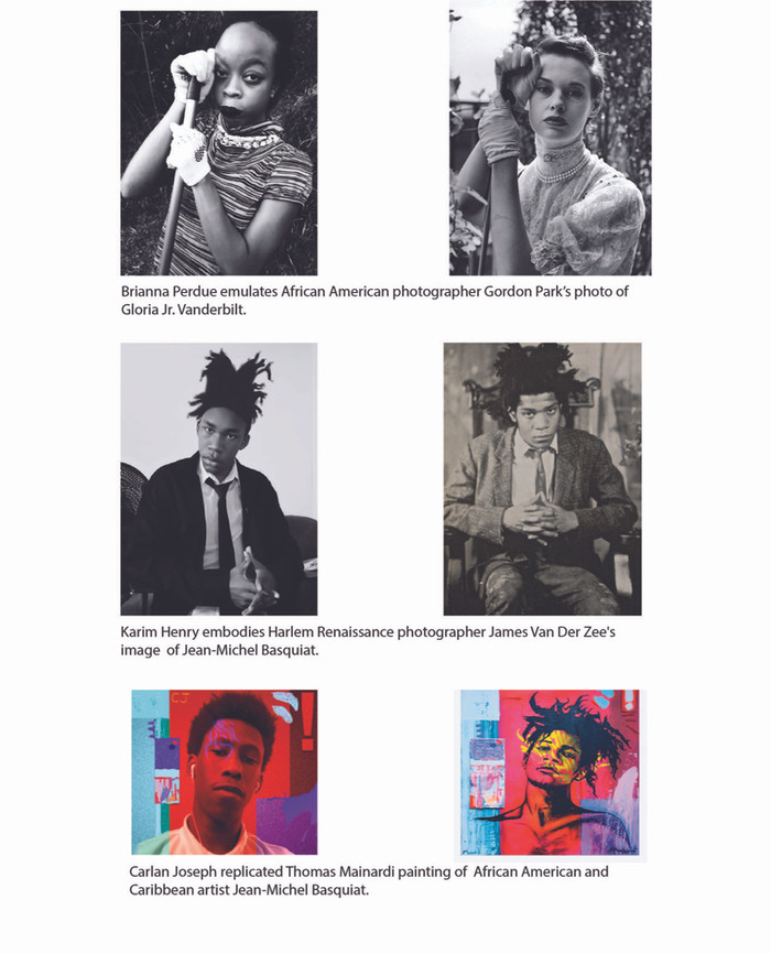 SCECHS Students Embodied African American Artists